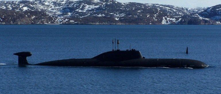 Подводная лодка проекта 971 «Щука-б»
