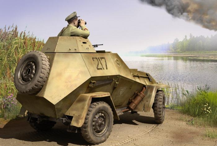 Конструкция бронеавтомобиля