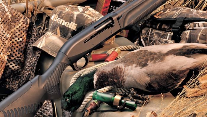 Ружья Benelli M2 изготавливаются для стрелков средней комплекции