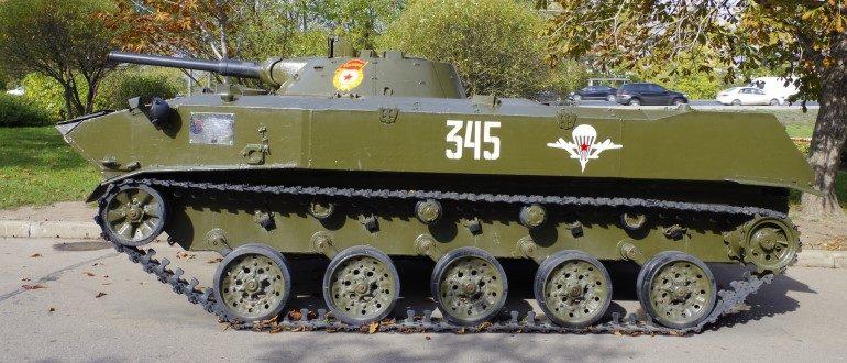Боевая машина БМД-1