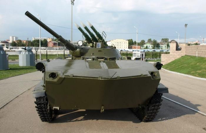 На базе БМД-1