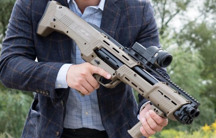 Дробовик DP 12 достаточно редкое оружие