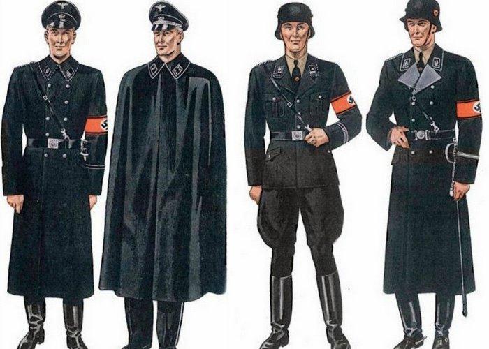 Форма СС в военное время