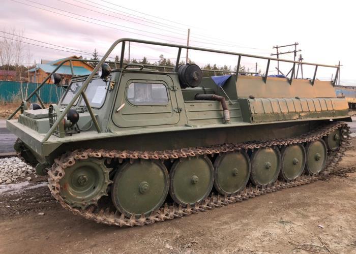 Модель вездехода ГАЗ-34039 «Ирбис»
