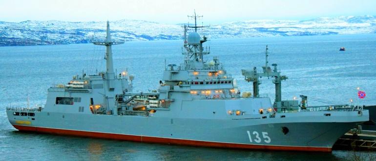 Десантный корабль «Иван Грен»