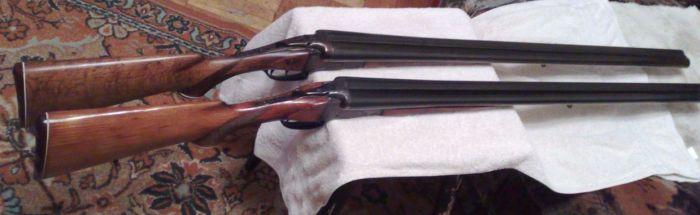 Два ружья одной модели