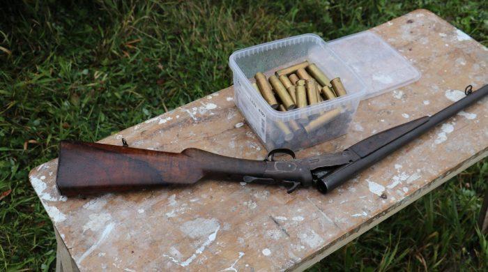 Старинное ружье ИЖ-5
