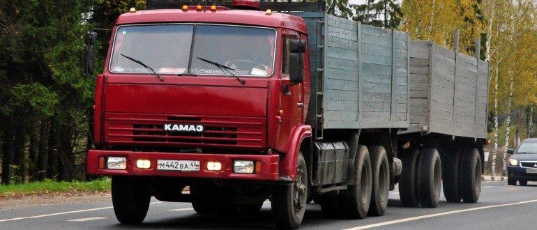 Грузовик КамАЗ-53212