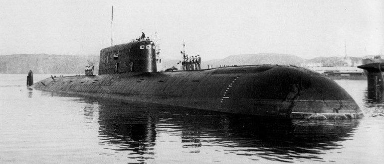 Подводная лодка «Комсомолец»