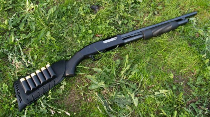 Ружье может комплектоваться полимерными ложами