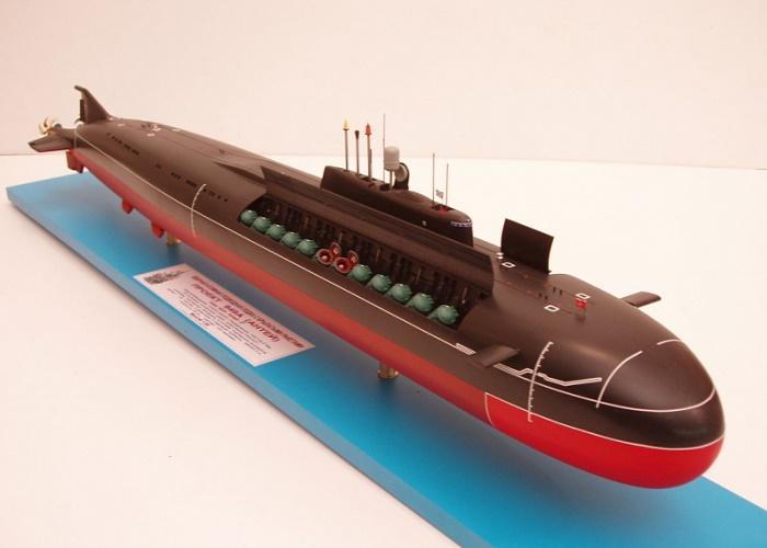 Субмарины проекта «Антей»