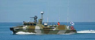 Проект 03160 Раптор патрульно-десантный катер