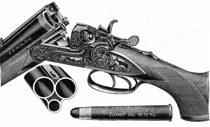 Старинное ружье