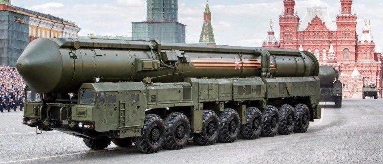 """РТ-2ПМ2 """"Тополь-М"""""""