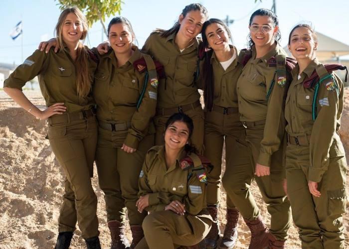 Структура израильской армии