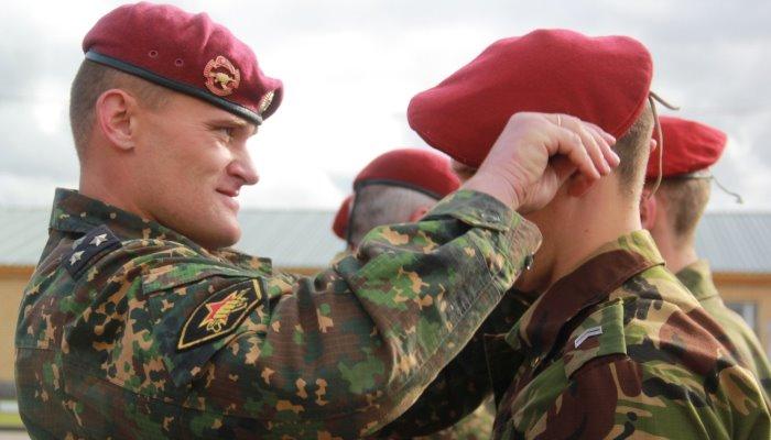 Служба в спецназе
