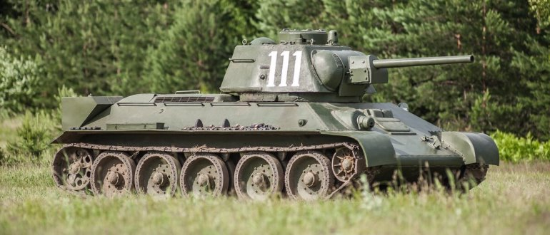 Танк Т-34 76