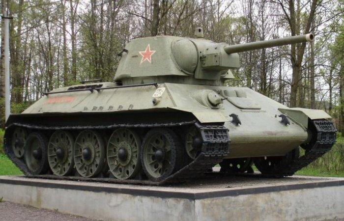 История советского танка