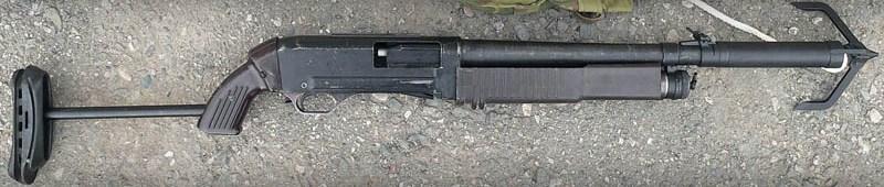 Модель м с ОЦ-06 Кошка для отстрела веревки с крюком-кошкой