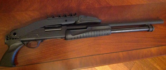 Модификация ружья