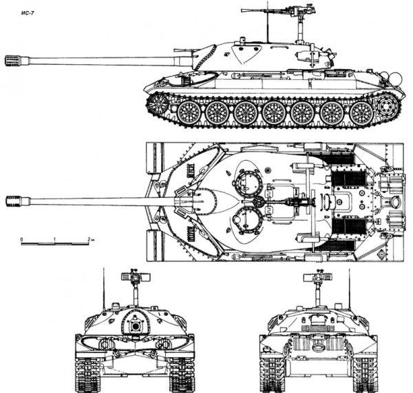 Схема танка