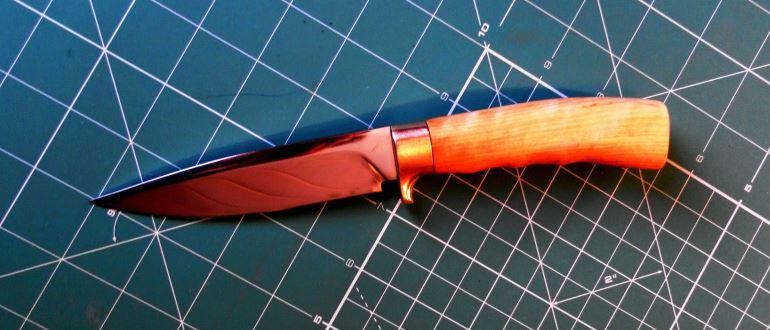 Нож в домашних условиях