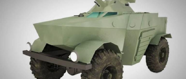 Сверхкомпактный бронеавтомобиль «Ласок 4-П»