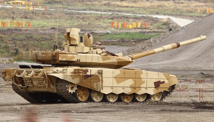 Пушка танка
