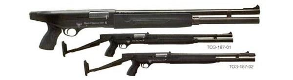 Два вида ружья