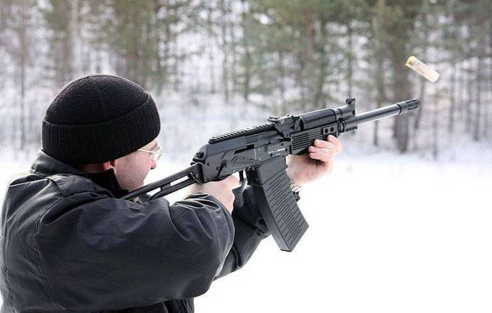 Стрельба зимой