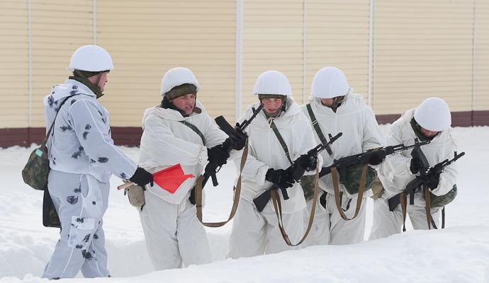 Подготовка солдат