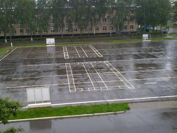 Площадка в части