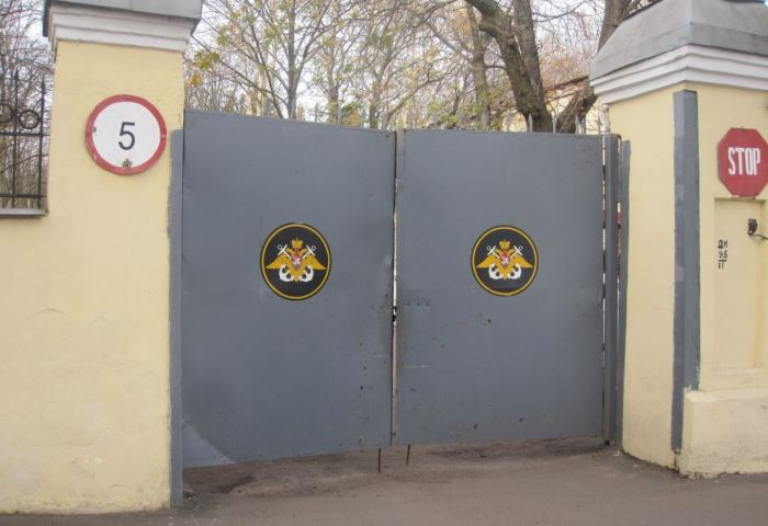Ворота на КПП