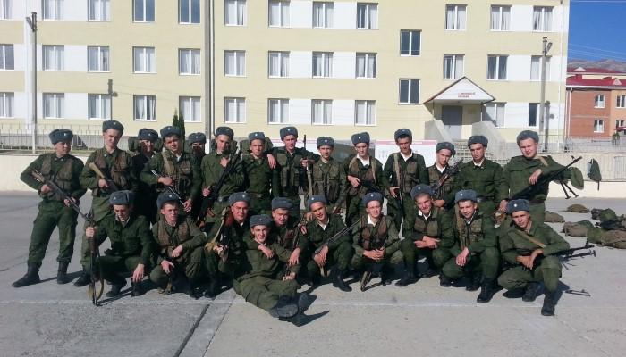 Общее фото солдат