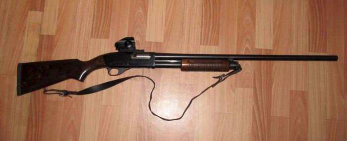 Помповое ружье 12 калибра