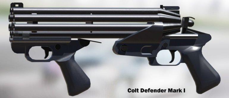 Дробовик Colt Defender
