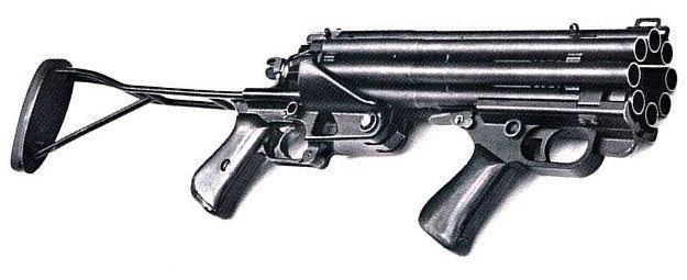 Восьмиствольный дробовик Colt Defender