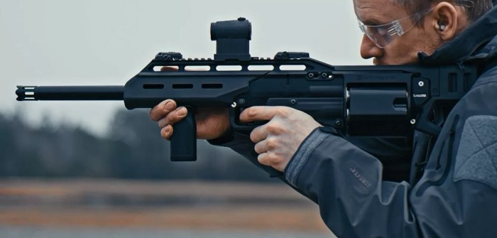 Использование ружья