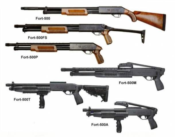 Модификации ружья