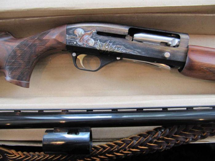 Рисунок на ружье