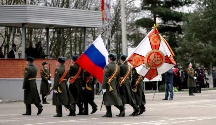 Вынесение боевого знамя