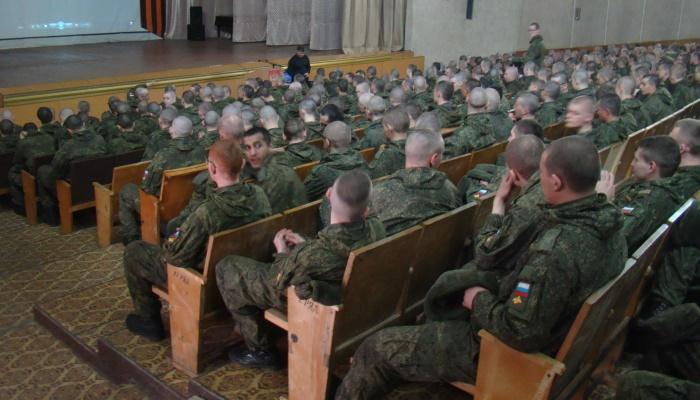 Мероприятие для солдат в части