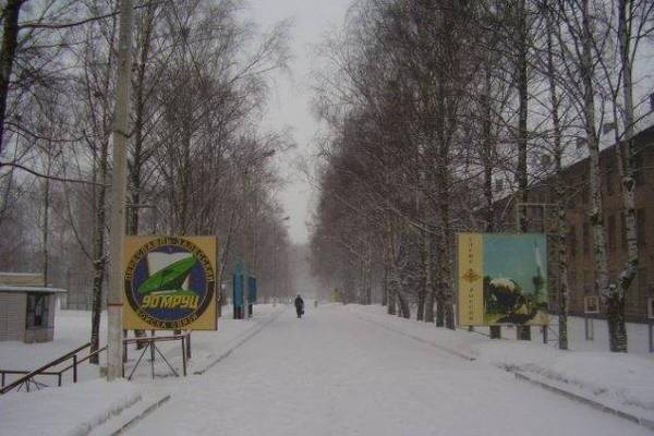 ВЧ зимой