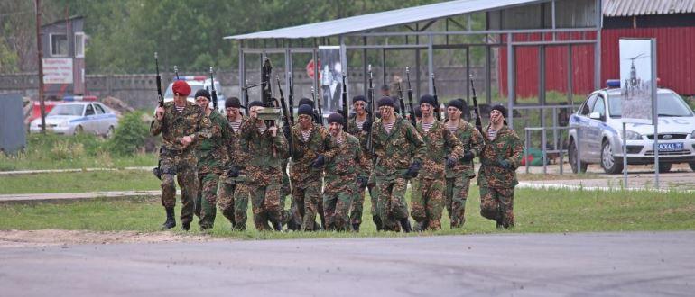 Воинская часть 6796 33-й ОСпН «Пересвет»