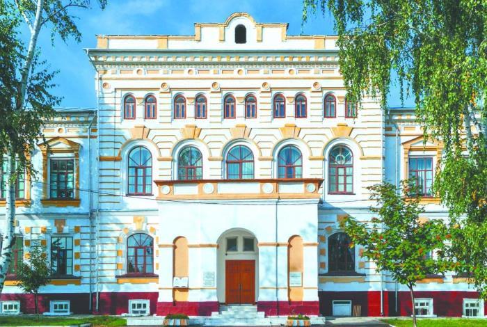 Здание училища