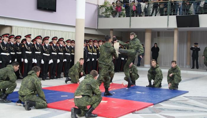 Демонстрация боевых навыков
