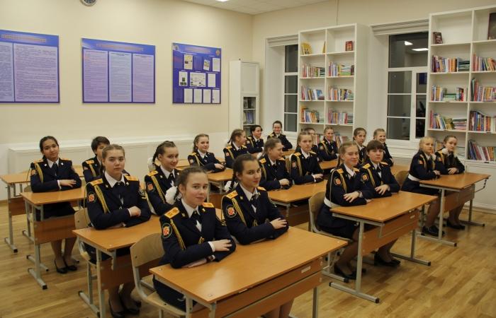 На учебе в классе