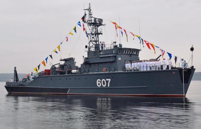 Корабль 607