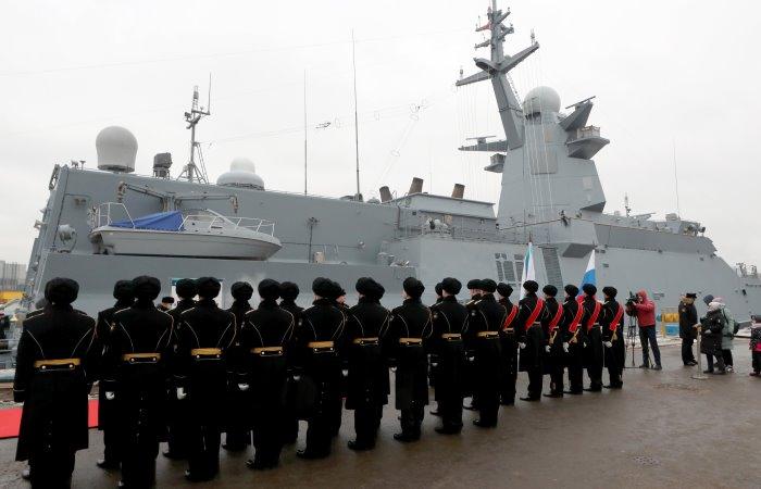 Передача корабля ВМФ РФ