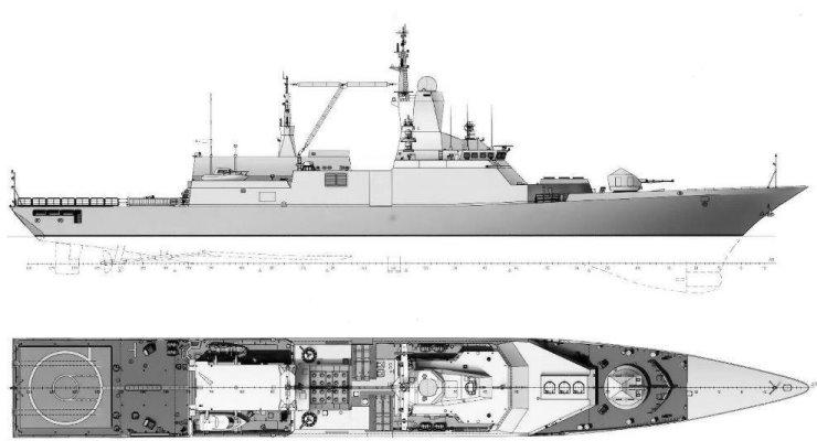Проект судна